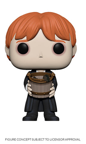 Harry Potter Funko Pop! Ron Weasley Puking (with Bucket) (Pre-Order)