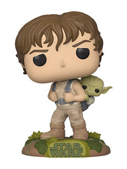 Star Wars: Empire Strikes Back Funko Pop! Luke Skywalker (Training) (with Yoda) (Pre-Order)