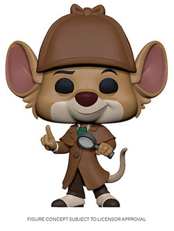 The Great Mouse Detective Funko Pop! Basil (Pre-Order)