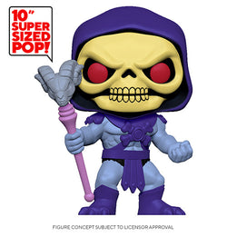 Masters of the Universe Funko Pop! Skeletor 10in (Pre-Order)