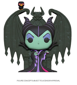 Disney Villains Funko Pop! Deluxe Maleficent on Throne (Pre-Order)