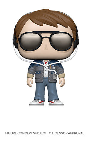 Back To The Future Funko Pop! Marty McFly (with Glasses) (Pre-Order)