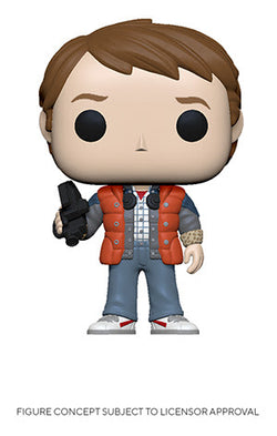 Back To The Future Funko Pop! Marty McFly (Coast Guard Puffy Vest) (Pre-Order)