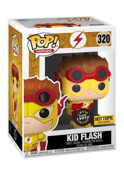 Flash Funko Pop! Kid Flash (Comics) #320 CHASE (Pre-Order)