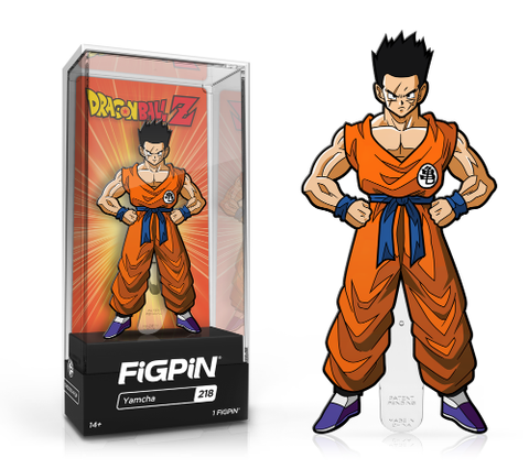 Dragon Ball Z FiGPiN Yamcha Collector Case #218 (Pre-Order)