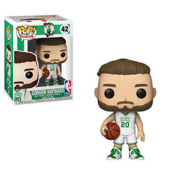 NBA Celtics Funko Pop! Gordon Hayward (White Jersey) #42