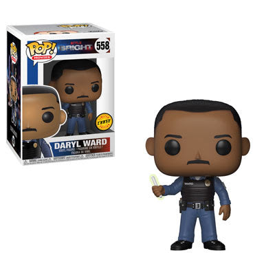 Bright Funko Pop! Daryl Ward CHASE #558