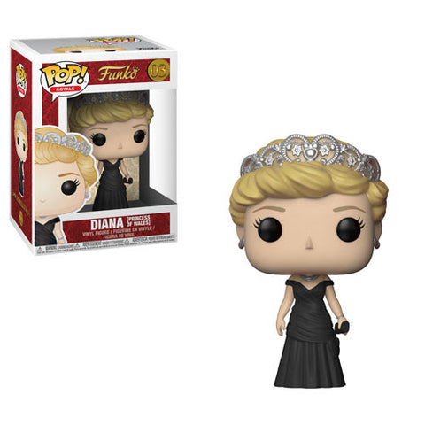 British Royals Funko Pop! Diana (Princess of Wales)