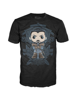 Game of Thrones Funko Apparel Tee Jon Snow Crest