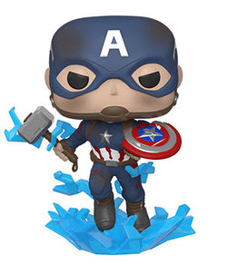Avengers Endgame Funko Pop! Captain America (with Mjolnir) #573