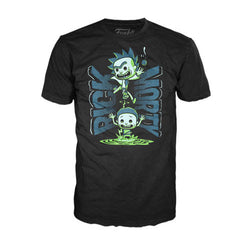 Rick and Morty Funko Apparel Tee Portal