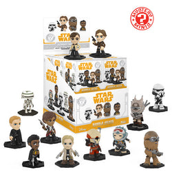 Star Wars Funko Mystery Mini Blind Box Solo - 12 Unit Display