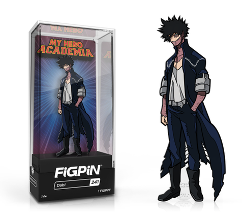 My Hero Academia FiGPiN Dabi Collector Case #241
