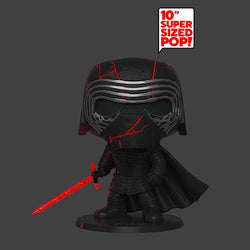Star Wars: The Rise of Skywalker Funko Pop! Kylo Ren (GITD) 10 Inch