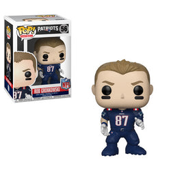 NFL Patriots Funko Pop! Rob Gronkowski (Color Rush) (Pre-Order)