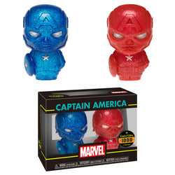 Marvel Funko Hikari XS Captain America (Red & Blue) (Pre-Order)