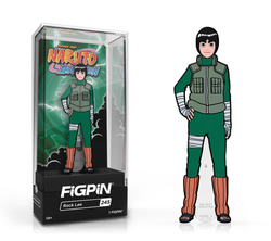 Naruto Shippuden FiGPiN Rock Lee Collector Case #245