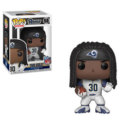 NFL Rams Funko Pop! Todd Gurley #58 (White Jersey)