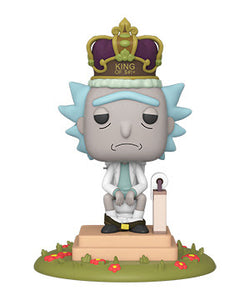 Rick and Morty Funko Pop! King of $#!+(with Sound) (Pre-Order)