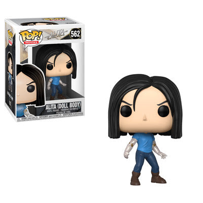Alita: Battle Angel Funko Pop! Alita (Doll Body) #562
