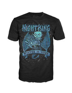 Game of Thrones Funko Apparel Tee Kings Ice Dragon