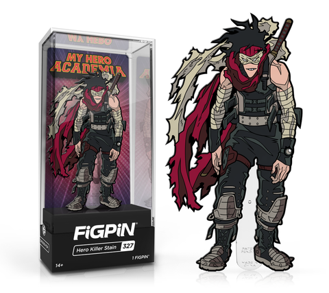 My Hero Academia FiGPiN Stain Collector Case #327 (Pre-Order)
