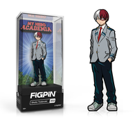 My Hero Academia FiGPiN Shoto Todoroki (School Uniform) Collector Case #332 (Pre-Order)