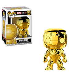 Marvel Funko Pop! Iron Man (Gold Chrome) (Pre-Order)
