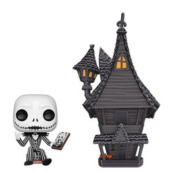 Nightmare Before Christmas Funko Pop! Jack with Jack's House