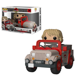 Jurassic Park Funko Pop! Park Vehicle (with Ellie) #39