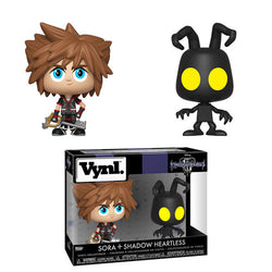 Kingdom Hearts 3 Funko Vynl Sora & Shadow Heartless (Pre-Order)