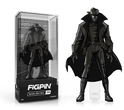 Into the Spider-Verse FiGPiN Spider-Man Noir Collector Case #316