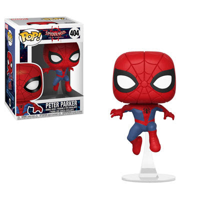 Animated Spider-Man Funko Pop! Peter Parker (as Spider-Man) #404 (Pre-Order)