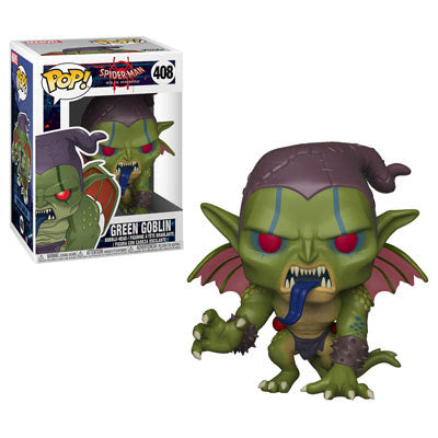 Animated Spider-Man Funko Pop! Green Goblin #408 (Pre-Order)