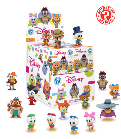 Disney Afternoon Funko Mystery Mini Blind Box - 12 Unit Display