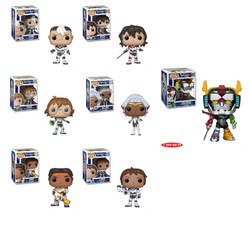 Voltron Funko Pop! Complete Set of 7 Voltron Included (Pre-Order)
