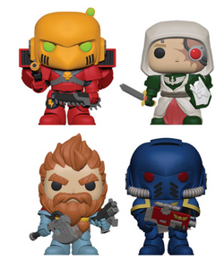 Warhammer 40k Funko Pop! Complete Set of 4