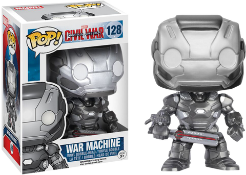 Captain America: Civil War Funko Pop! War Machine #128