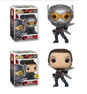 Ant-Man and the Wasp Funko Pop! Wasp CHASE & Common (Pre-Order)