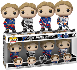 NHL Hockey Funko Pop! Wayne Gretzky (4-Pack)
