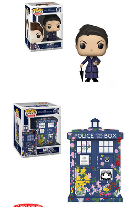 Doctor Who Funko Pop! Complete Set of 2 (Pre-Order)