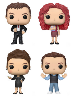 Will & Grace Funko Pop! Complete Set of 4 (Pre-Order)