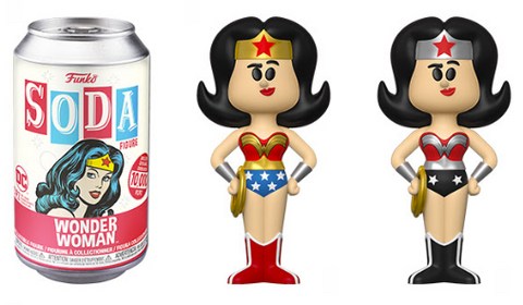 DC Comics Funko Vinyl SODA Wonder Woman (Chance of Chase)