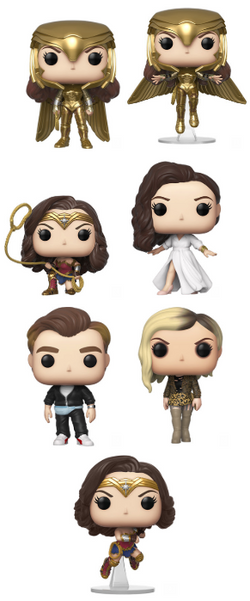 Wonder Woman 1984 Funko Pop! Complete Set of 7 (Pre-Order)