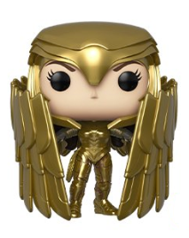 Wonder Woman 1984 Funko Pop! Wonder Woman (Golden Eagle) (Wing Shield) (Metallic) (Pre-Order)
