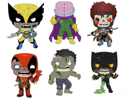Marvel Zombies Funko Pop! Complete Set of 6 (Pre-Order)
