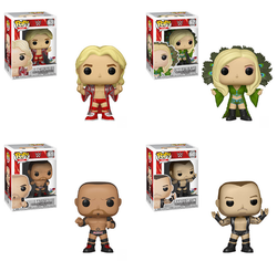 WWE Funko Pop! Complete Set of 4