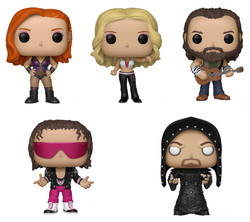 WWE Funko Pop! Complete Set of 5 (Pre-Order)