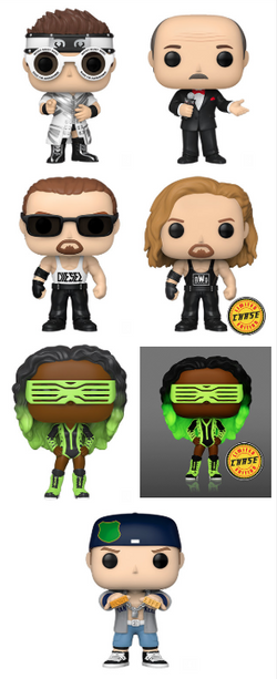 WWE Funko Pop! Complete Set of 7 CHASES Included (Pre-Order)