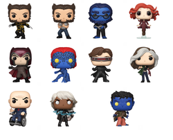 X-Men: 20th Anniversary Funko Pop! Complete Set of 11 (Pre-Order)